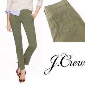 J Crew seamed motorcycle ankle pant 2369